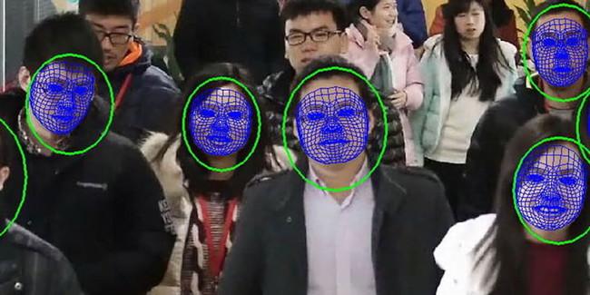 Face Detection China Metro
